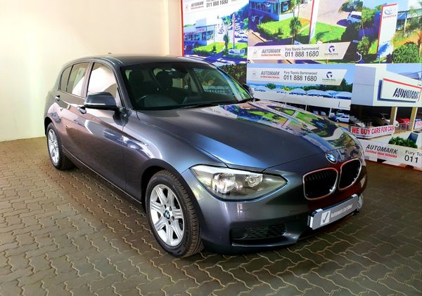 2013 BMW 1 Series 118i 5dr At f20  Gauteng Randburg_0
