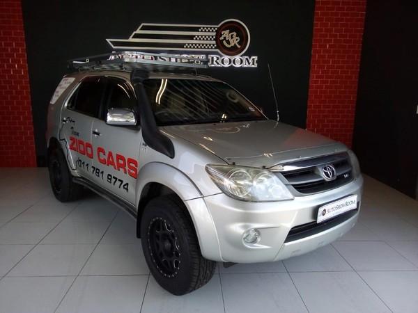 2006 Toyota Fortuner 4.0 V6 4x4  Gauteng Kempton Park_0
