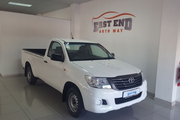2015 Toyota Hilux 2.5 D-4d S Pu Sc  North West Province Rustenburg_0