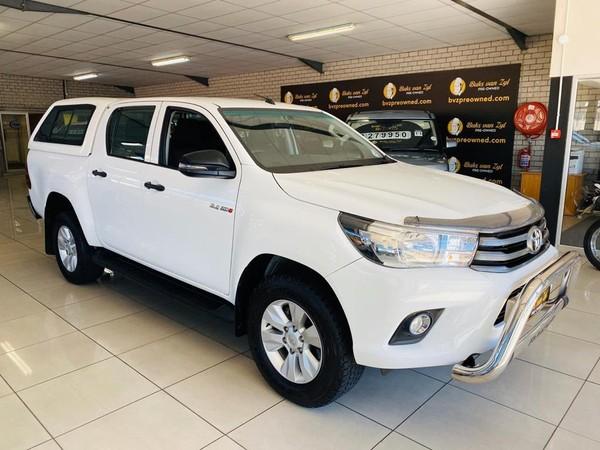 2018 Toyota Hilux 2.4 GD-6 RB SRX Double Cab Bakkie Western Cape Paarl_0