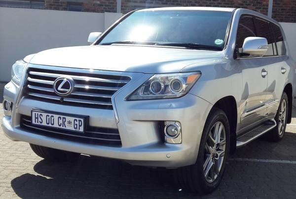 2012 Lexus LX 570  Free State Sasolburg_0