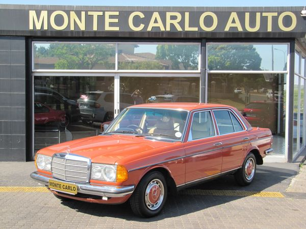 1977 Mercedes-Benz E-Class 230 Auto W123 Automatic Petrol Gauteng Sandton_0