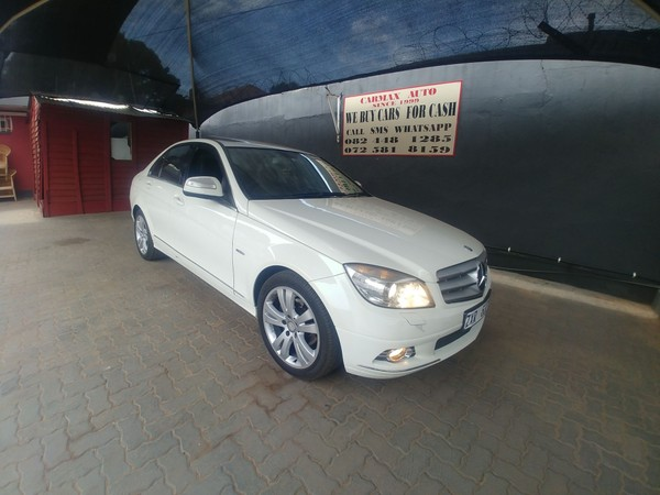 2010 Mercedes-Benz C-Class C180k Avantgarde At  Gauteng Johannesburg_0