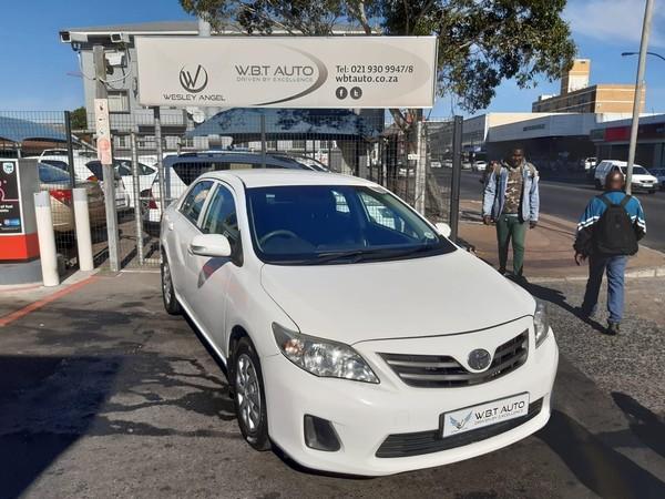2012 Toyota Corolla 1.6 Professional  Western Cape Cape Town_0