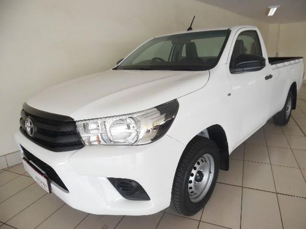 2017 Toyota Hilux 2.4 GD AC Single Cab Bakkie Mpumalanga Ermelo_0