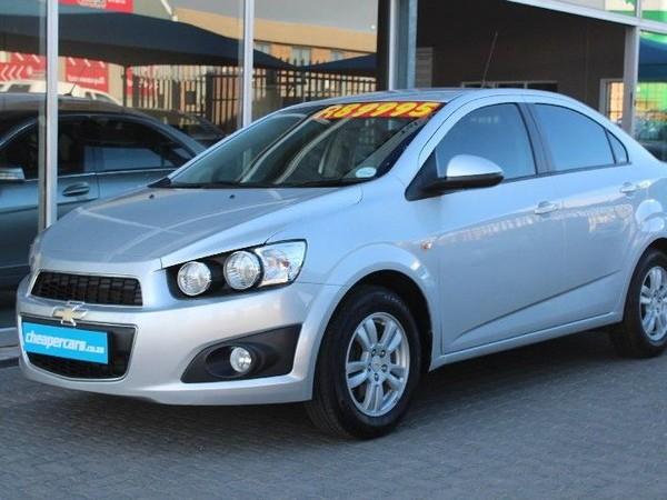 2012 Chevrolet Sonic Chevrolet Sonic 1.6 Ls  Western Cape Bellville_0