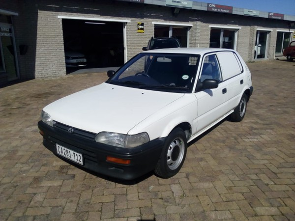 2000 Toyota Tazz 130 Carri Fc Pv  Western Cape Plumstead_0