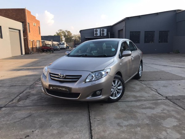 2010 Toyota Corolla 1.8 Exclusive At - low kms MARKED DOWN Gauteng Vanderbijlpark_0