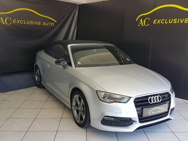 2015 Audi A3 1.8T FSI SE Stronic Sline Cabriolet Western Cape Goodwood_0