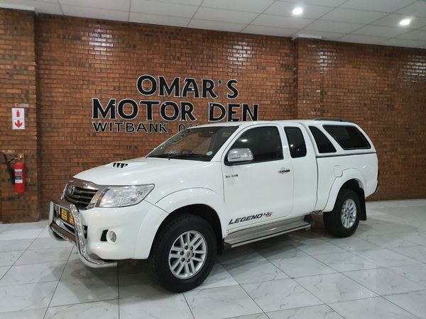 2012 Toyota Hilux 3.0d-4d Raider Xtra Cab Pu Sc  Mpumalanga Witbank_0