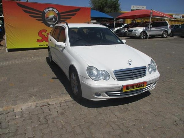 2006 Mercedes-Benz C-Class C180k Estate Elegance  Gauteng North Riding_0