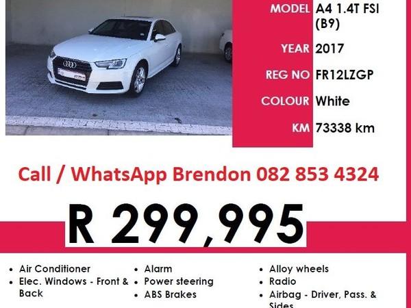 2017 Audi A4 1.4T FSI MANUAL  Western Cape Goodwood_0