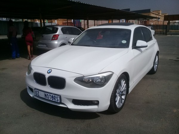 2012 BMW 1 Series 120d 5dr At f20  Gauteng Sandton_0