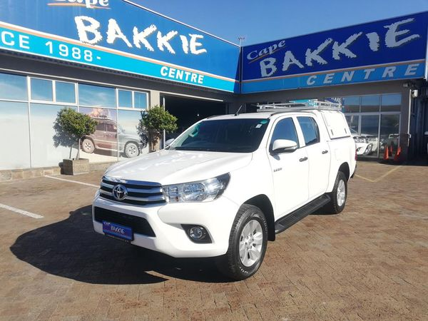 2017 Toyota Hilux 2.4 GD-6 SRX 4x4 Double Cab Bakkie Western Cape Parow_0