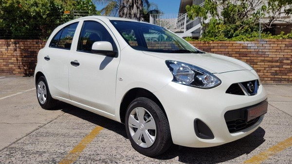 2018 Nissan Micra 1.2 Active Visia Western Cape Paarl_0