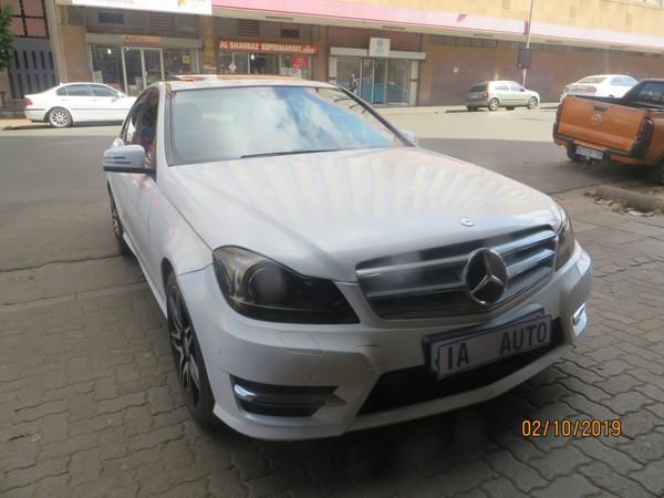 2013 Mercedes-Benz C-Class C 200k Sport At  Gauteng Johannesburg_0