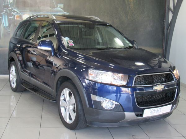 2012 Chevrolet Captiva 2.2d Ltz 4x4 At  Western Cape Goodwood_0