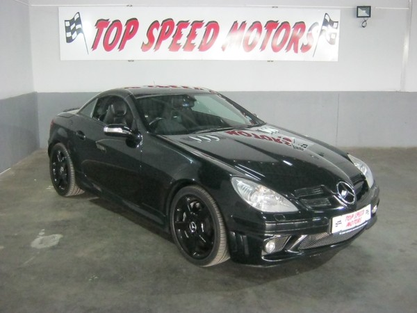 2006 Mercedes-Benz SLK-Class Slk 55 Amg  Gauteng Vereeniging_0