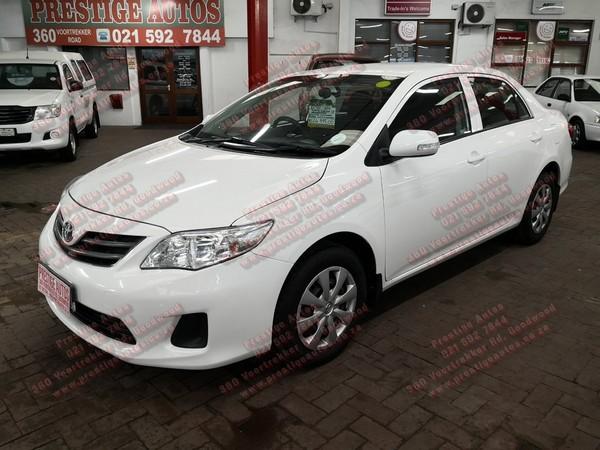 2010 Toyota Corolla 1.3 Professional  Western Cape Goodwood_0