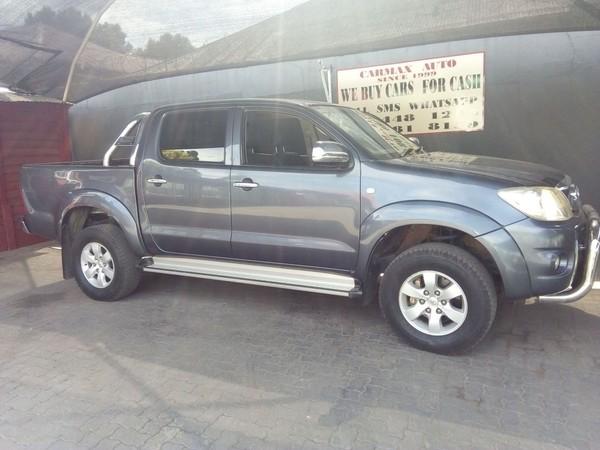 2010 Toyota Hilux 2.7vvt-i Raider Pu Dc  Gauteng Johannesburg_0