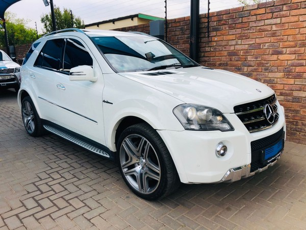 2011 Mercedes-Benz M-Class Ml 63 Amg  Gauteng Pretoria_0