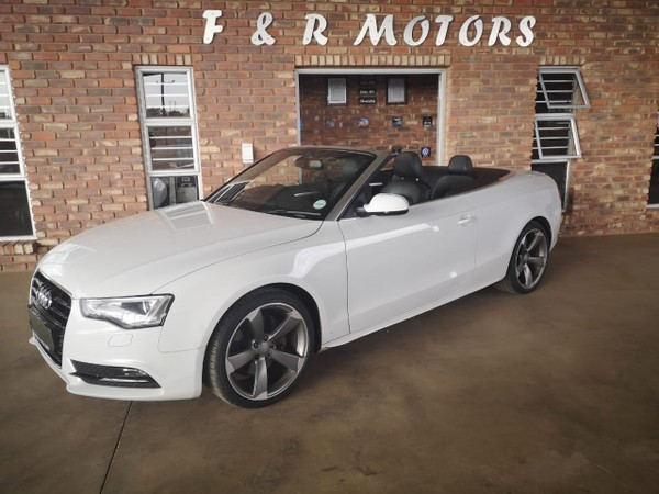 2012 Audi A5 2.0 Tfsi Cabriolet Mtronic  North West Province Potchefstroom_0