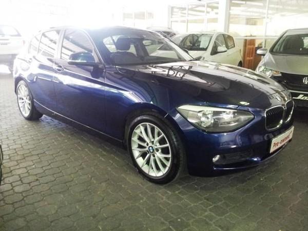 2013 BMW 1 Series 118i 5dr f20  Western Cape Claremont_0