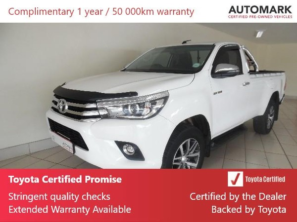 2018 Toyota Hilux 2.8 GD-6 RB Raider Single Cab Bakkie Auto Mpumalanga Ermelo_0