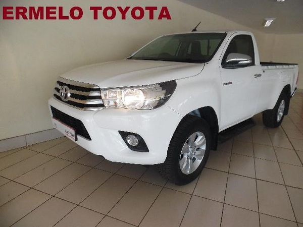 2016 Toyota Hilux 2.8 GD-6 Raider 4x4 Single Cab Bakkie Mpumalanga Ermelo_0