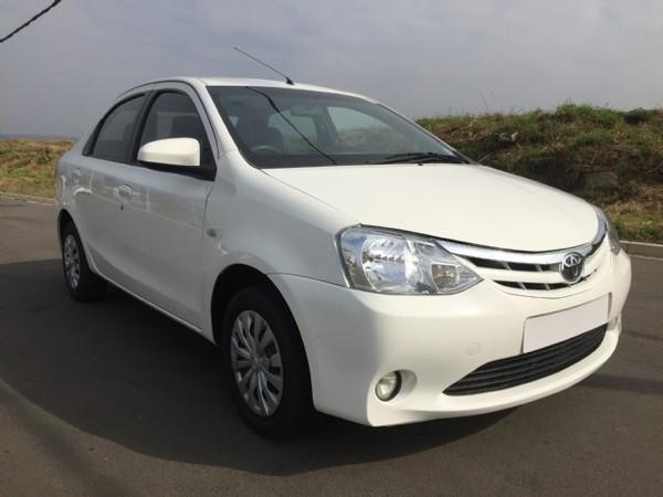 2016 Toyota Etios 1.5 Xs  Kwazulu Natal Mount Edgecombe_0