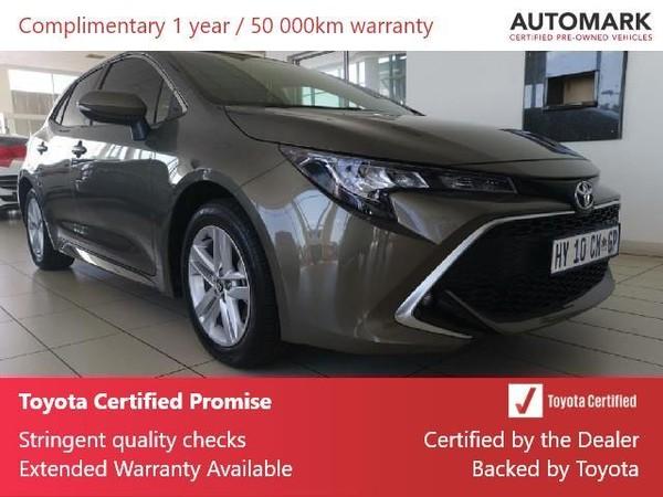 2019 Toyota Corolla 1.2T XR CVT 5-Door Gauteng Lenasia_0