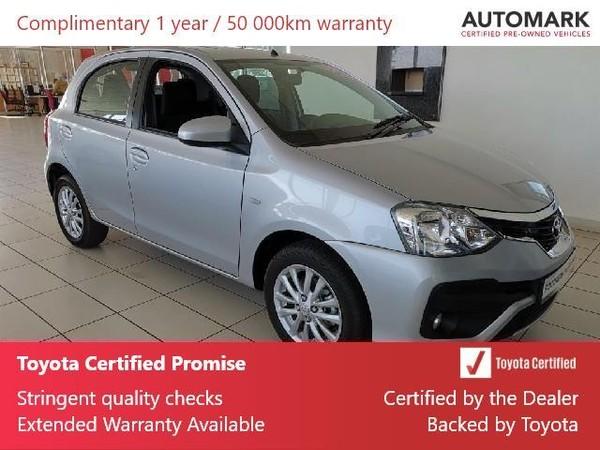 2017 Toyota Etios 1.5 Xs 5dr  Gauteng Lenasia_0