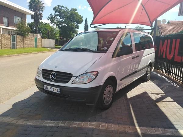 2008 Mercedes-Benz Vito 115 2.2 Cdi Crew Bus  Gauteng Boksburg_0