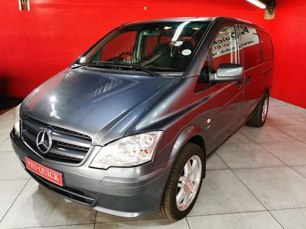 2012 Mercedes-Benz Vito 116 CDI Crewbus XL Gauteng Pretoria_0