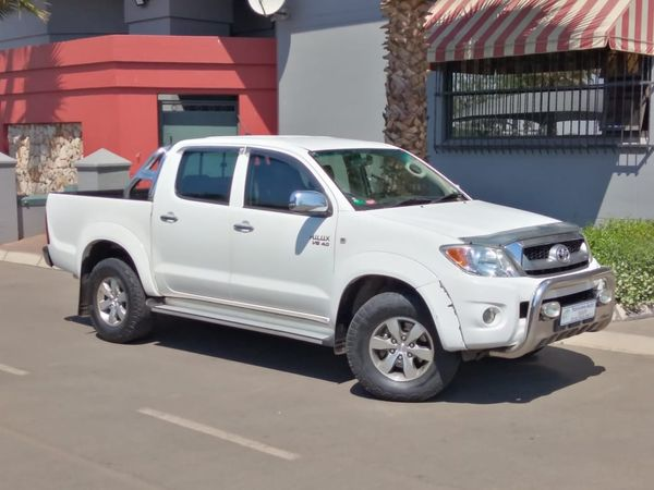 2009 Toyota Hilux 4.0 V6 Raider Rb At Pu Dc  Gauteng Vanderbijlpark_0