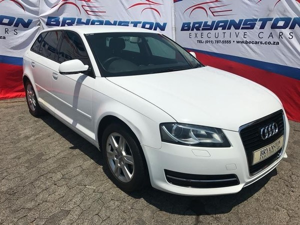 2012 Audi A3 1.4 Tfsi Sportback Attraction  Gauteng Bryanston_0