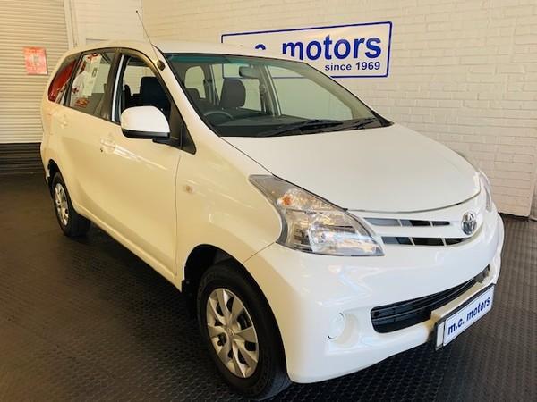 2015 Toyota Avanza 1.5 SX Western Cape Cape Town_0