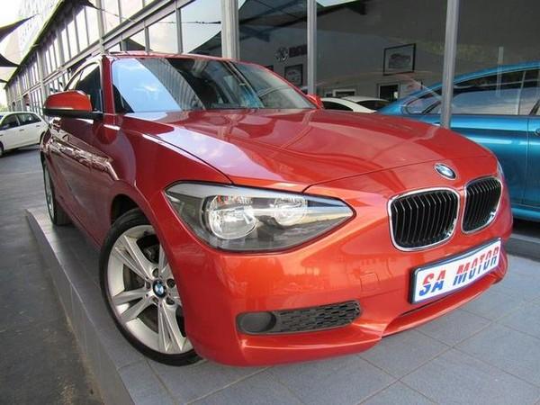 2013 BMW 1 Series 118i Sport Line 3dr At f21  Gauteng Randburg_0