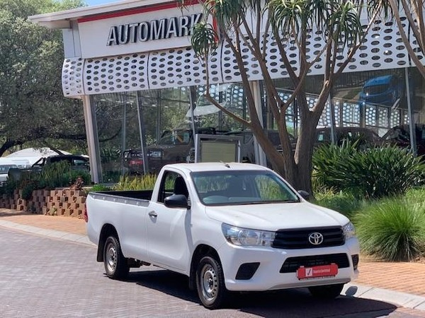 2016 Toyota Hilux 2.4 GD AC Single Cab Bakkie Gauteng North Riding_0