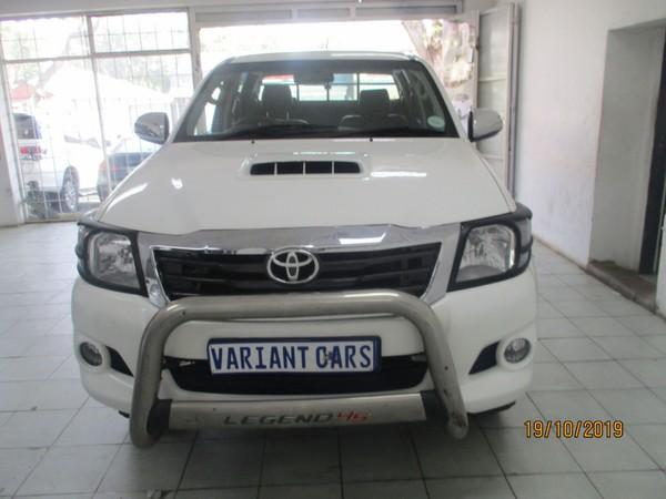 2014 Toyota Hilux 3.0 D-4D LEGEND 45 4X4 Double Cab Bakkie Gauteng Johannesburg_0