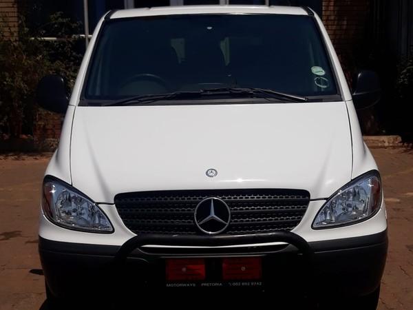 2006 Mercedes-Benz Vito 115 2.2 Cdi Crew Bus  Gauteng Pretoria West_0