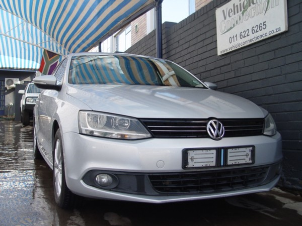 2014 Volkswagen Jetta Vi 1.6 Tdi Comfortline  Gauteng Johannesburg_0