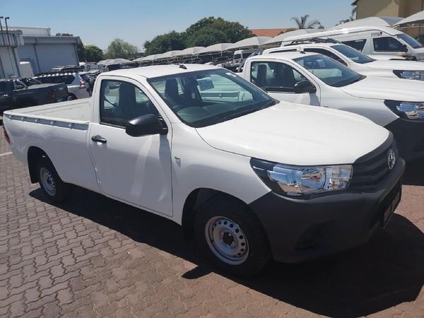 2021 Toyota Hilux 2.0 VVT Single Cab Bakkie Gauteng North Riding_0