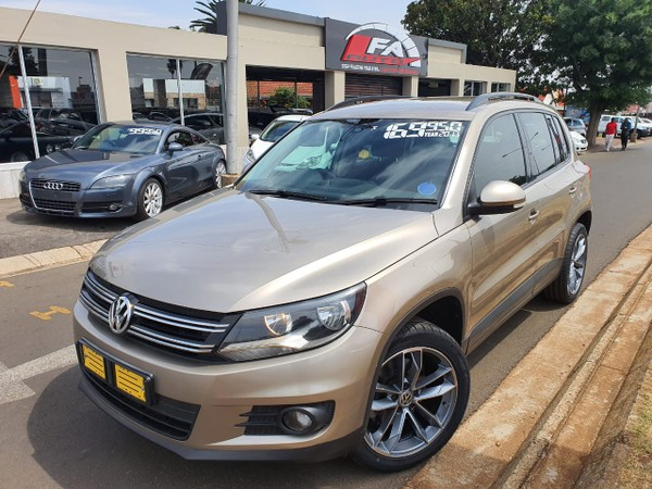 2015 Volkswagen Tiguan 1.4 Tsi  Trend-fun 4mot  Gauteng Kempton Park_0