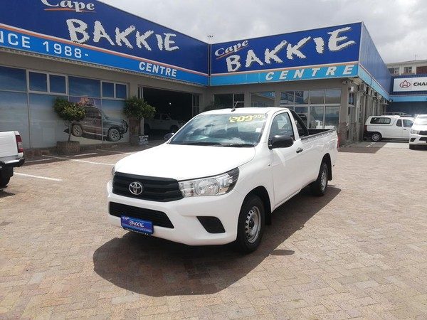 2016 Toyota Hilux 2.4 GD Single Cab Bakkie Western Cape Parow_0