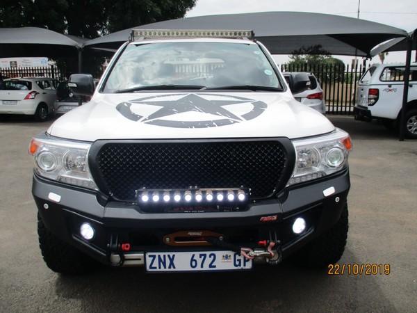 2010 Toyota Land Cruiser 200 V8 4.5d Vx At  Gauteng Alberton_0