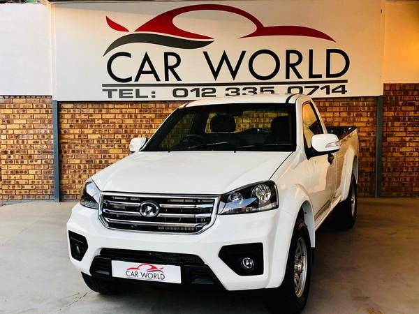 2018 GWM Steed 5 2.0 WGT Workhorse Single Cab Bakkie Gauteng Pretoria_0
