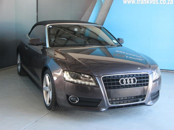 2010 Audi A5 2.0 Tfsi Cabriolet Mtronic  Western Cape Somerset West_0