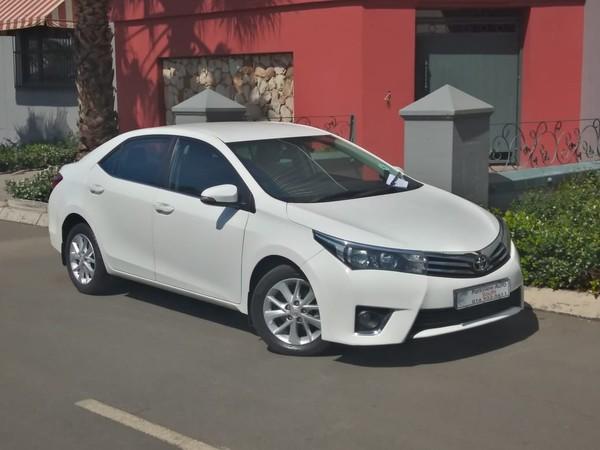 2015 Toyota Corolla 1.8 Exclusive CVT Gauteng Vanderbijlpark_0
