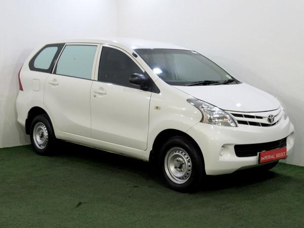 2015 Toyota Avanza 1.3 S Fc Pv  Gauteng Alberton_0